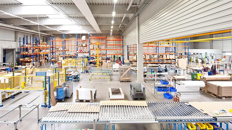 Fertigung und Produktion für Solarkollektoren