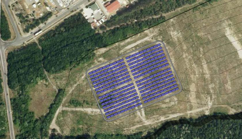 Solare Fernwärme der Stadtwerke Senftenberg